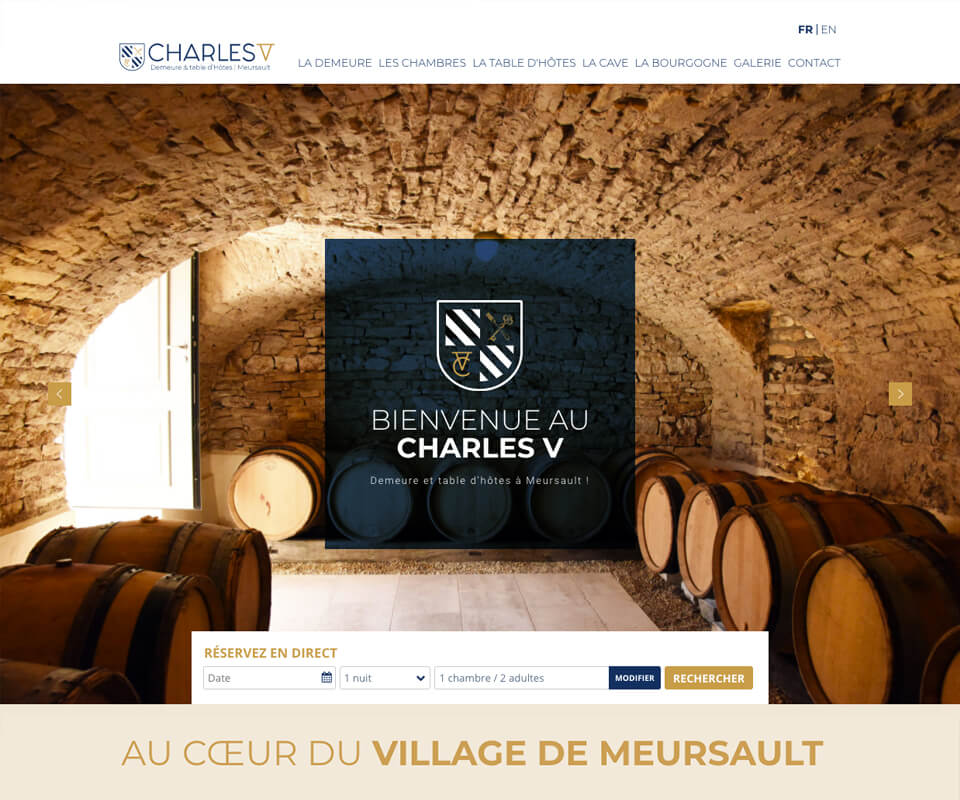 Site internet Chambre d'hôtes