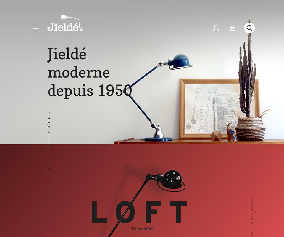 site e-commerce Jieldé